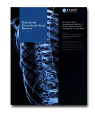 Non-surgical Decompression System (DRX9000™) for the Treatment of Chronic Low-back Pain – A Case Report